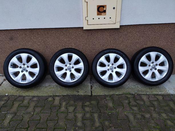 """Alufelgi Opel 17"""" 5x115 ET44 7J + opony letnie"""