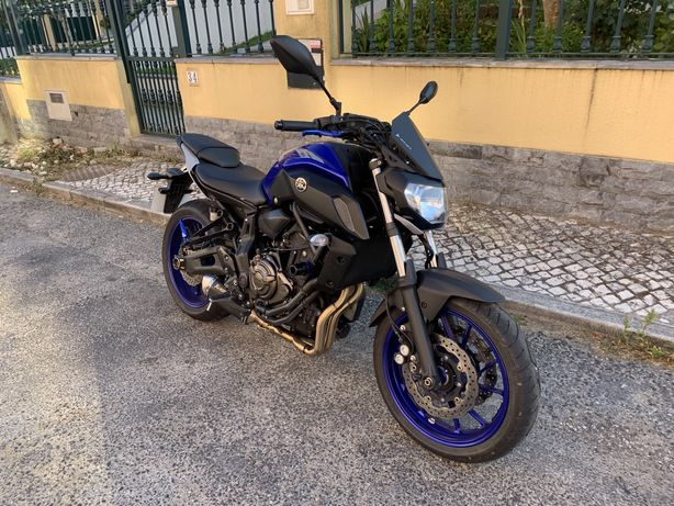 Yamaha MT07 35kw 2019
