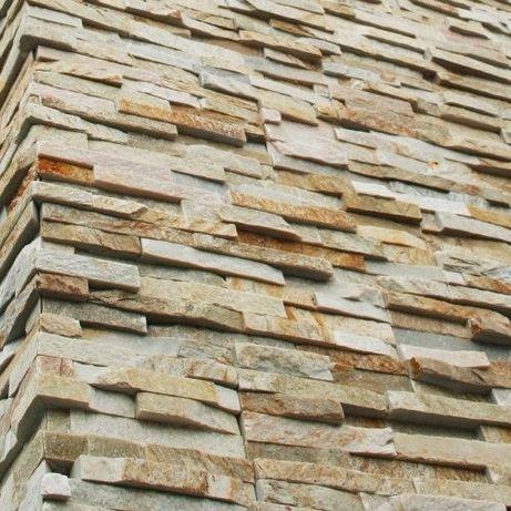 Kamień dekoracyjny Płytki Beige 36x10 płytka kamień ozdobny naturalny