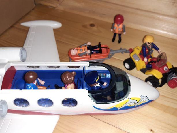 Samolot playmobil 6081 quad ratownictwa górskiego 9130