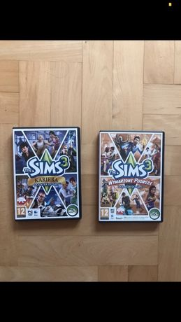 Sims 3 Kariera + Wymarzone Podróże (dodatki)