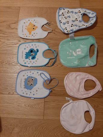 Śliniaczki dla niemowląt