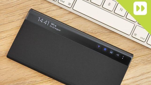 Vendo capa Samsung Galaxy S20 Ultra Case S-View Flip Cover black