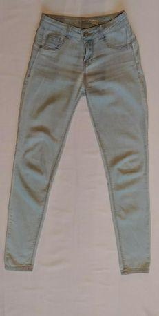 Spodnie rurki bershka s push up