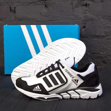 кожаные Мужские Кроссовки Adidas < Мужские кроссовки   кеды  Обувь