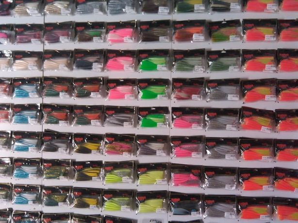 VINIS lunker city para a pesca ao spinning todas as cores do catálogo