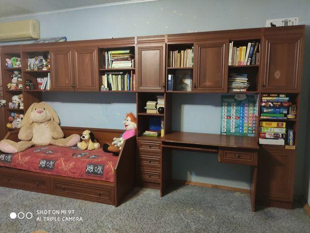 Срочно! Детская комната Домино от мебельной фабрики Скай Б/У