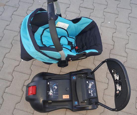 Fotelik samochodowy 0-9kg firmy Coletto + adapter