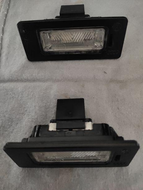 Luzes de matrícula Audi A4 A5
