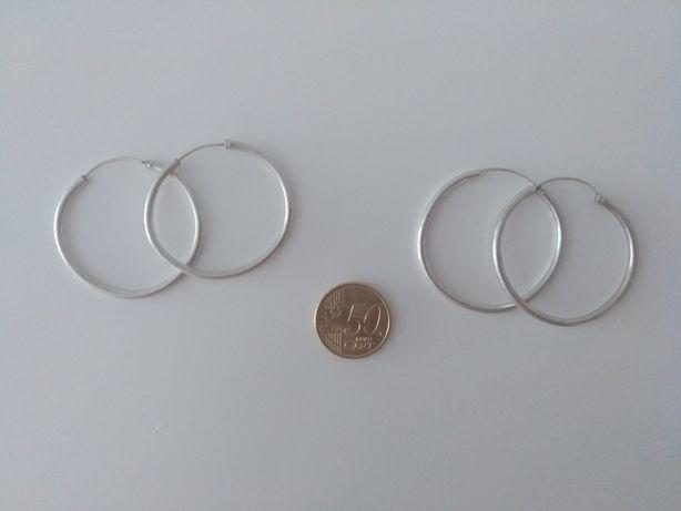 Argolas em prata