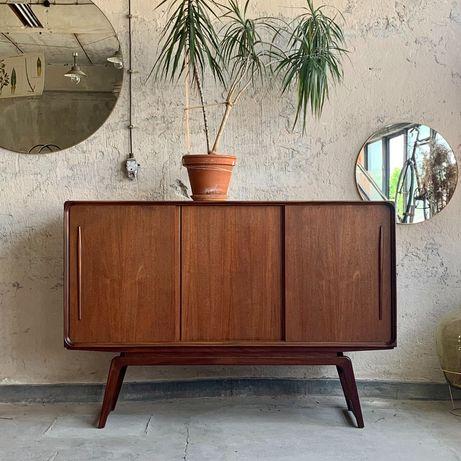 Duński sideboard /komoda, drzewo tekowe. Lata 60/70 Vintage prl design