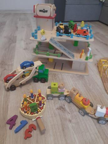 Zestaw klocków drewnianych
