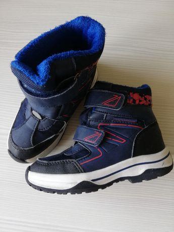 Zimowe buty chlopiece rozm 28