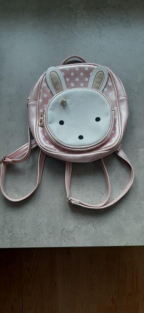 Plecak królik dziewczęcy