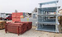 Rusztowania typ Plettac. Layher Baumann 59 m2 Stemple szalunkowe