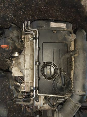 мотор двегун вольцваген тауран шкода 2.0 BKD