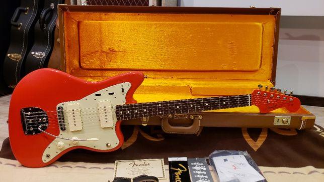 Электрогитара Fender AVRI Thin Skin 1962 Jazzmaster (Fiesta Red, 2007)