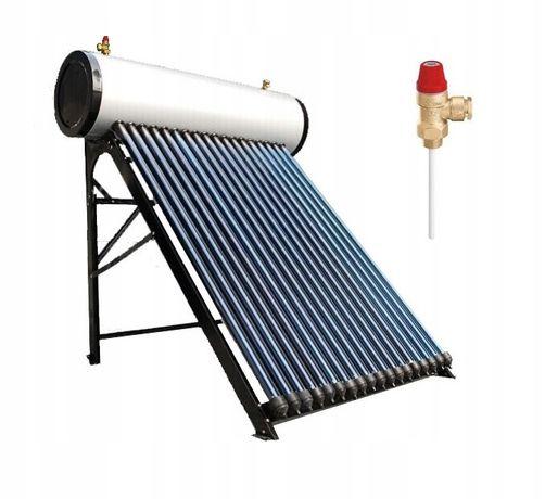 Kolektor słoneczny ciśnieniowy 200 l. Nierdzewny Montaż cały kraj