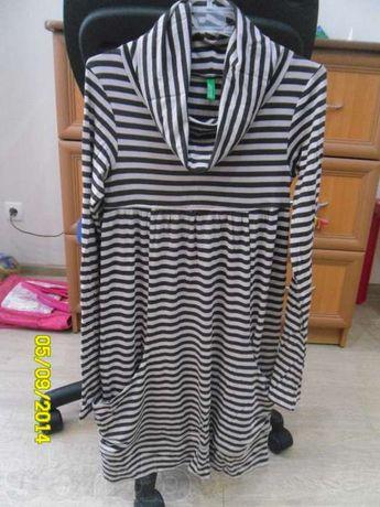 Новое платье-туника BENETTON XL 10-11 лет. Весна-осень.