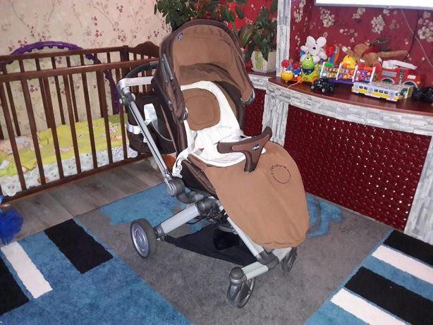 Продам коляску Chicco Duo I-Move 2 в 1 коричневая