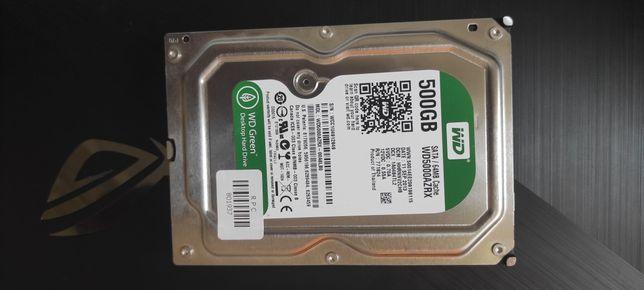 Жёсткий диск HDD Western Digital Green 500 Gb