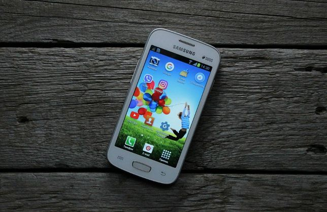 Смартфон SAMSUNG GT-S7262 Duos Galaxy Star Plus ZWA (pure white)