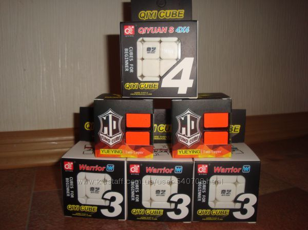 Кубик Рубика 3*3 2*2 QiYi кубик рубика 4*4 7*7