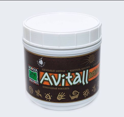 Тонизирующий диетический коктейль Avitall Active