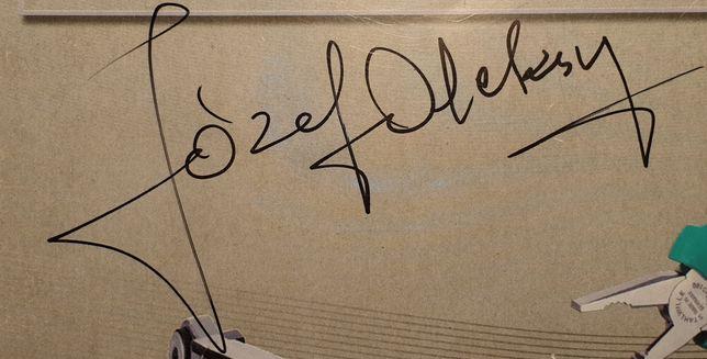 Autograf - Józef Oleksy - Premier, Marszałek Sejmu
