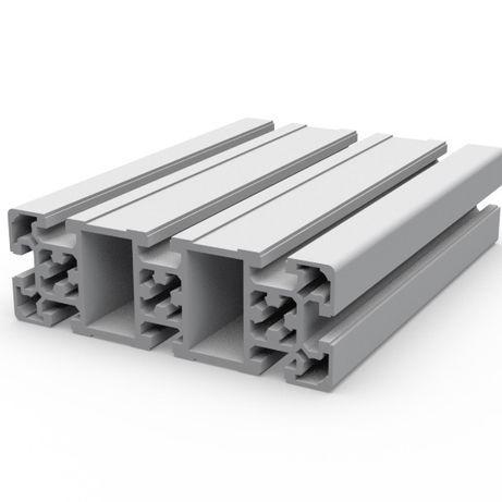 Алюминиевый станочный профиль 20,30,40,45,50,60,80,100мм