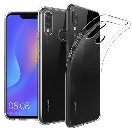 Прозрачный силиконовый чехол Huawei P Smart + PLus Y5 Y6 Y7 P20 Nova 2
