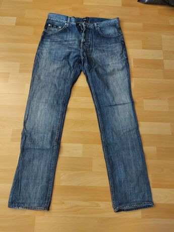 Spodnie jeansowe Hugo Boss
