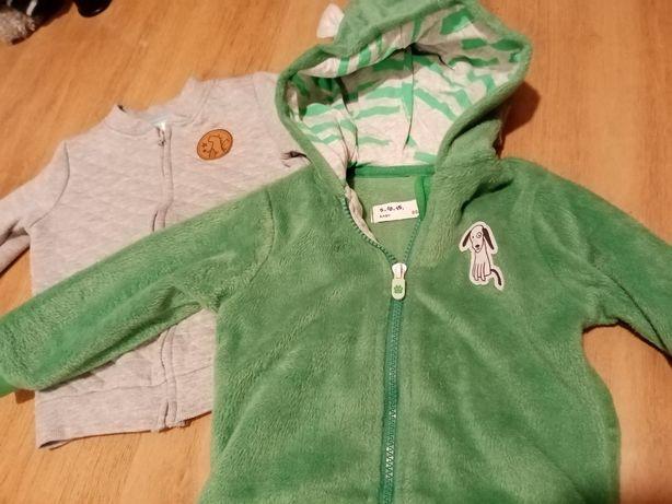 Bluzy 5,10,15,inne, sweterek H&M 80/86