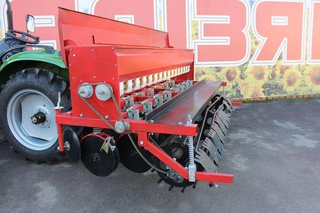 Сівалка зернова до Міні трактора від 1.5 до 3.6метра