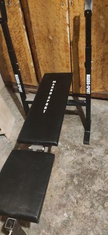 Ławeczka do ćwiczeń, podnoszenia ciężarów, ławka fitness