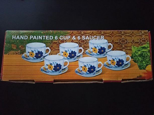 Чайний сервіз на 6 персон (12 предметів)