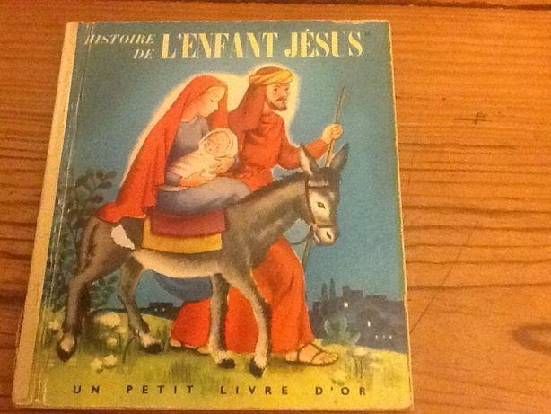 Livros Vintage,de criança,escrito em espanhol e em francês