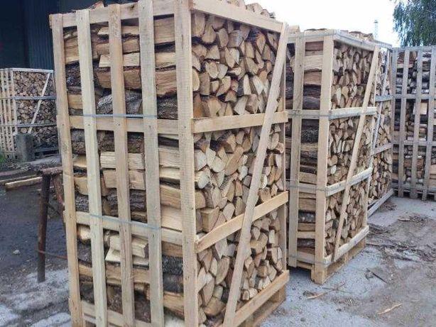 Акация Дуб колотые сухие дрова,есть метровки и пол метровки доставка