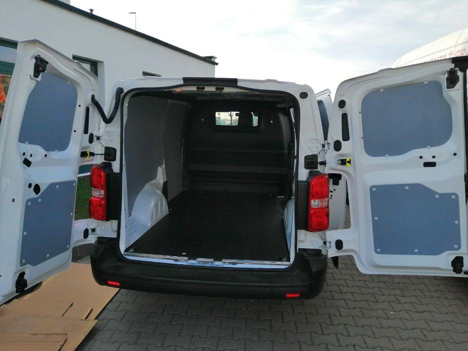 Zabudowa przestrzeni ładunkowej z PCV Citroen Jumpy Peugeot Expert XL
