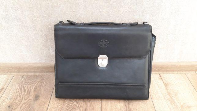 Продам кожаную сумку, портфель или барсетку