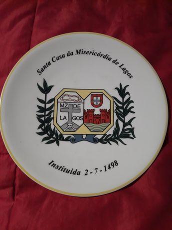 Prato de porcelana (Portugal) Santa casa da misericórdia de Lagos.