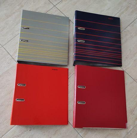 Dossiers de várias cores e padrões a 0,15 cêntimos