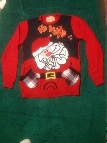 sweter swiateczny M