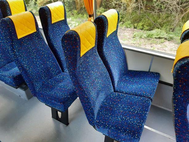 Fotele, siedzenia, bus, autobus