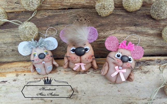 Милые игрушки мышки