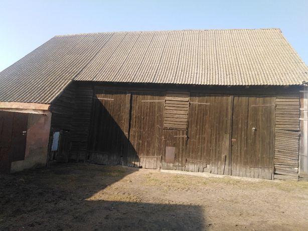 Oddam stodołę w zamian za rozbiórkę i zabranie  wszystkiego drewna