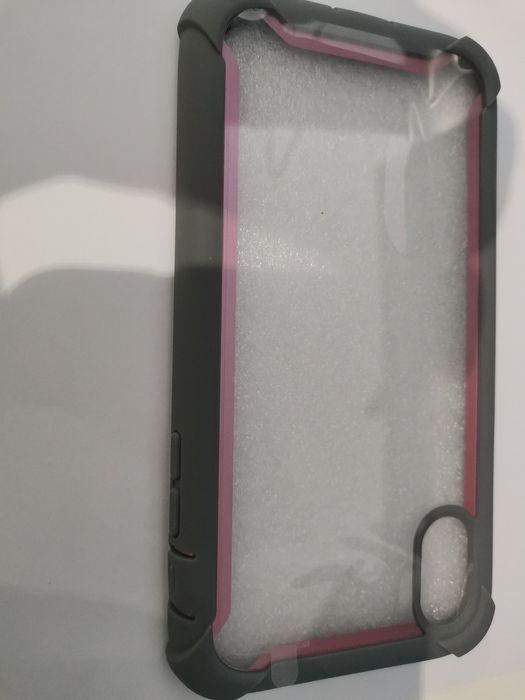 Capa borracha iPhone xs cor de rosa São Teotónio - imagem 1