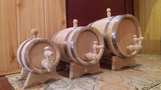 Єлитная Бочка для вина, коньяка. Дубовая бочка