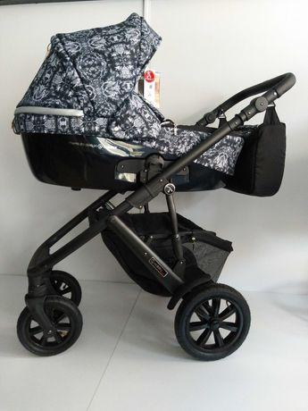 Wózek Coletto Emporio 3w1  (gondola+spacerówka+fotelik)