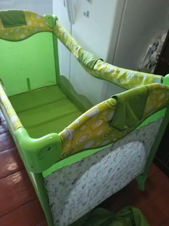 Кровать-манеж, люлька-качалка bertoni с рождения до 4 лет